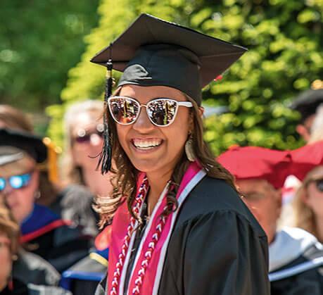 graduate at Wittenberg University